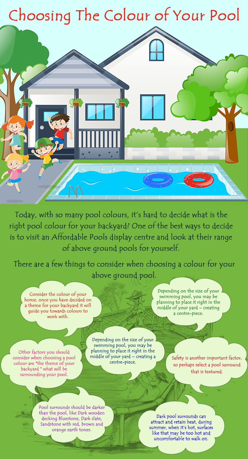 Choosing The Colour of Your Pool
