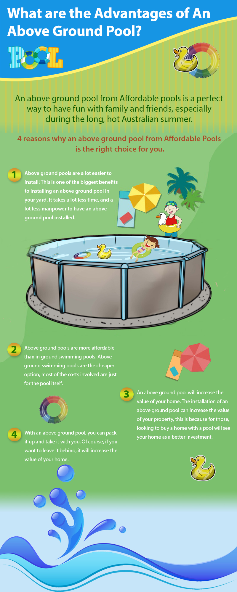 What are the Advantages of An Above Ground Pool