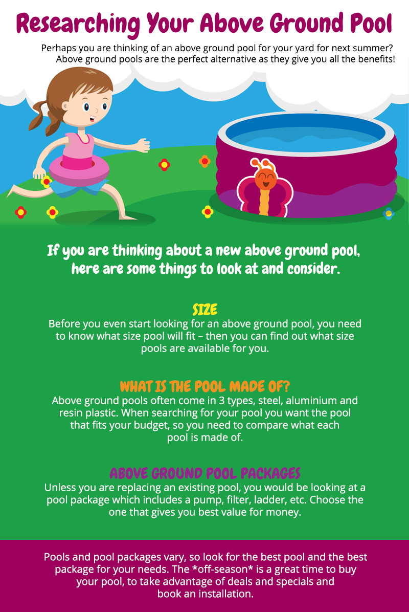 Researching Your Above Ground Pool