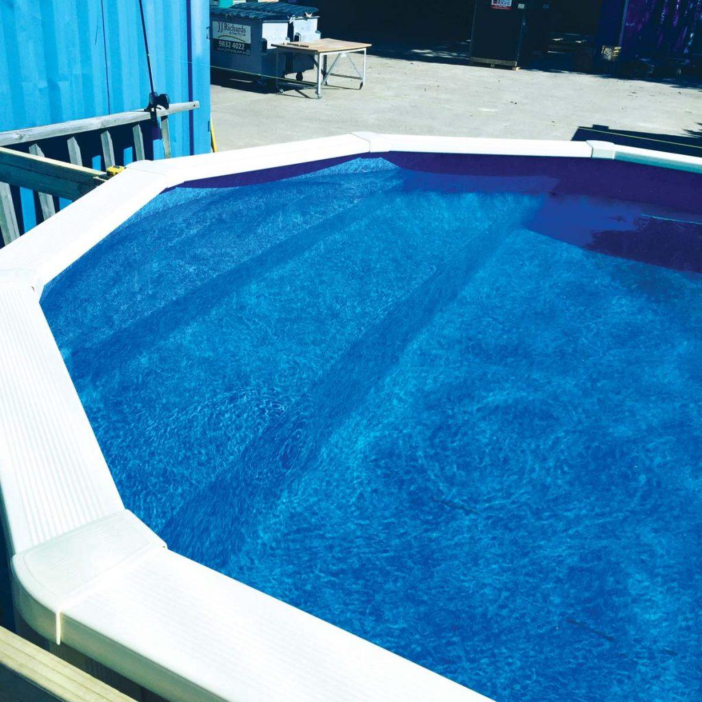 Affordable pools -pool steps