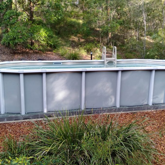 Saltwater Pools – Spacesaver Range